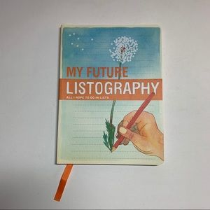 My Future Listography Journal Book